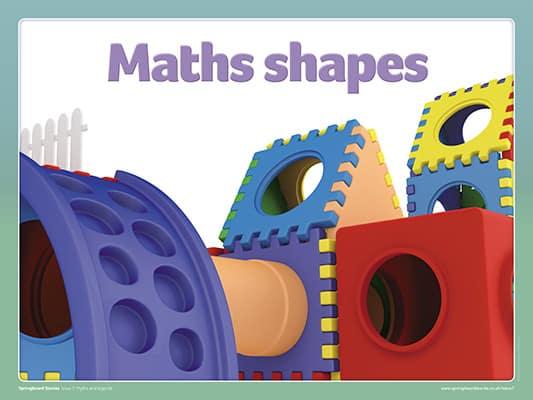 springboard stories maths shapes slideshow