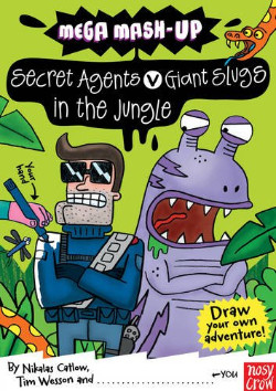 Secret Agents v Giant Slugs in the Jungle Mega Mash  Up series