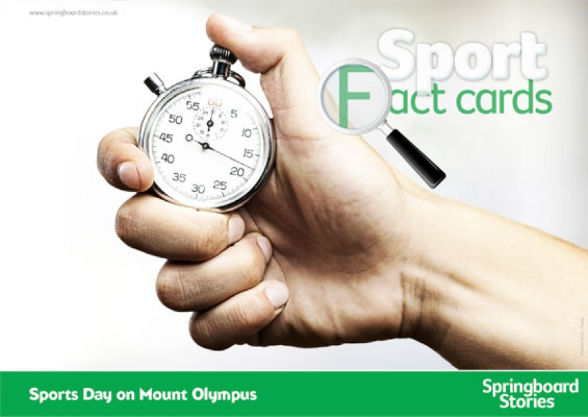 Sport fact cards – text