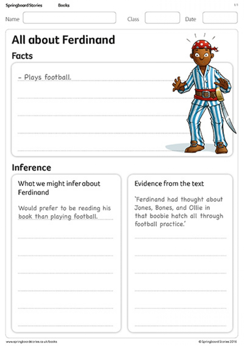 All about Ferdinand primary resource on inference