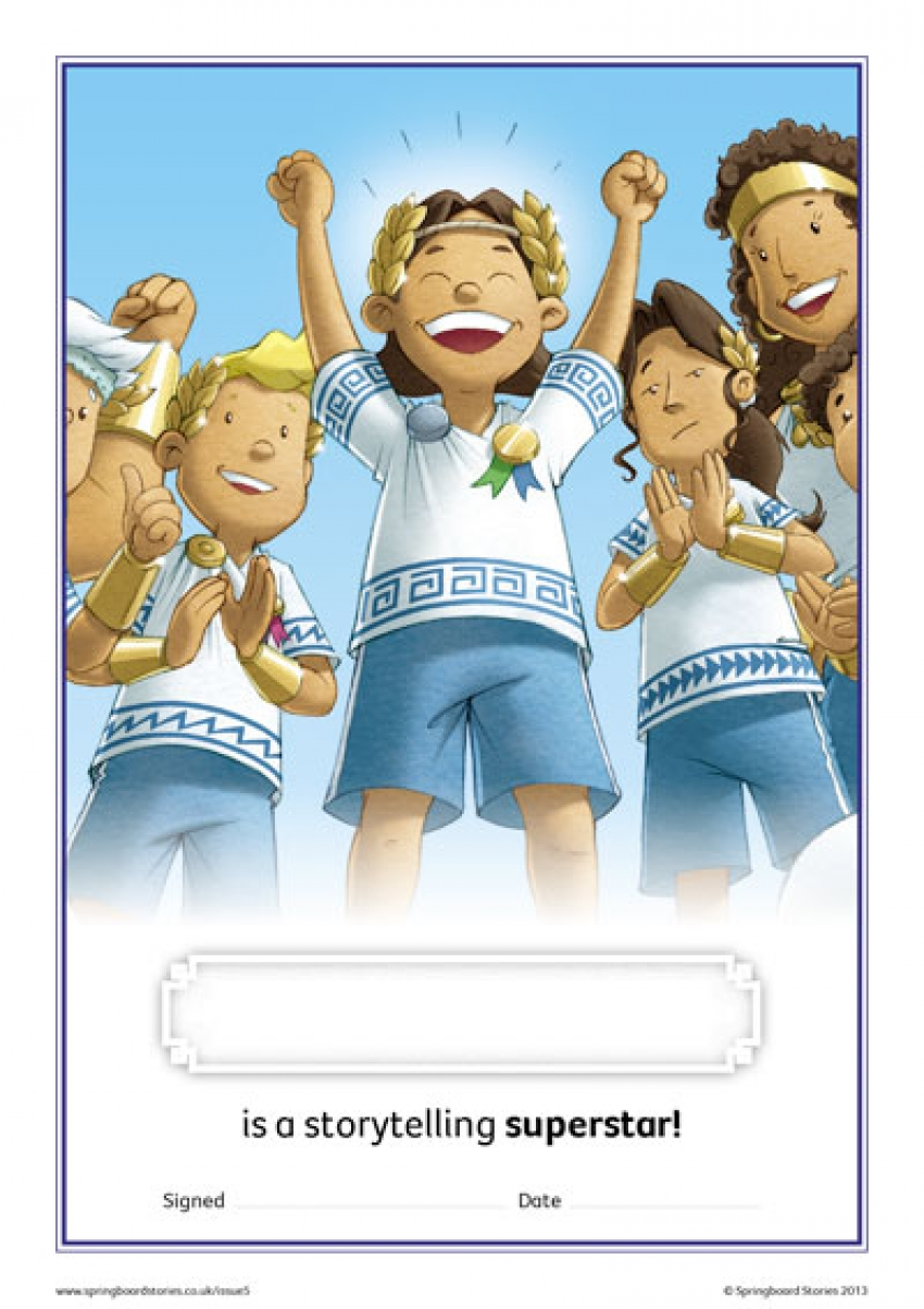 Sport storytelling certificate – EY and KS1