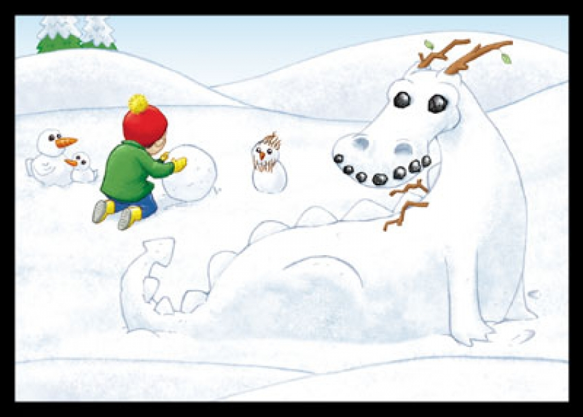 Build a snow creature interactive game – PC