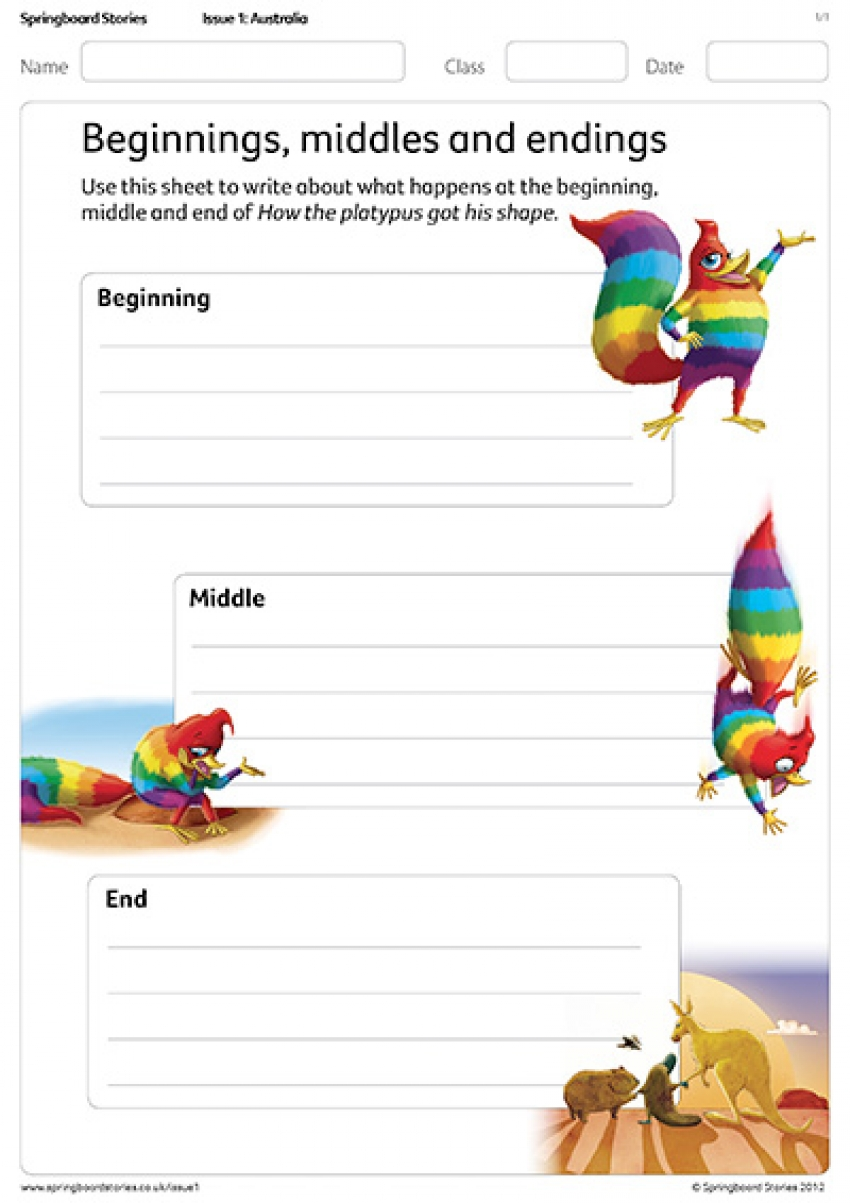 Primary drama resources springboard stories beginnings middles and endings pooptronica