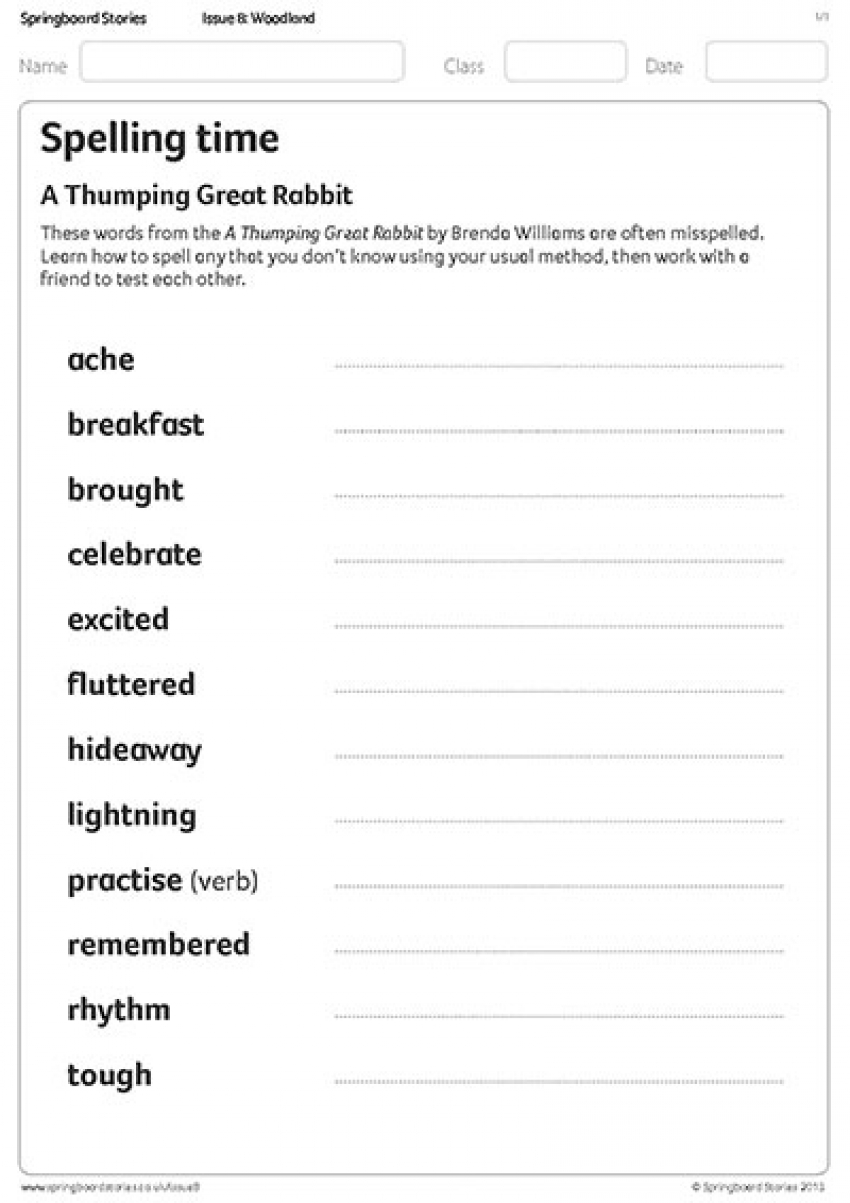 Thumping Great Rabbit spellings
