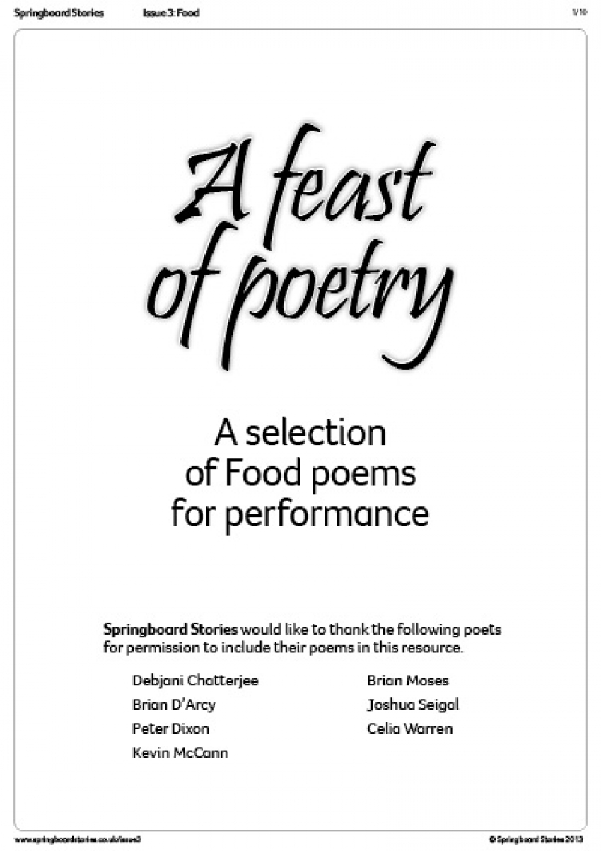 A feast of poetry