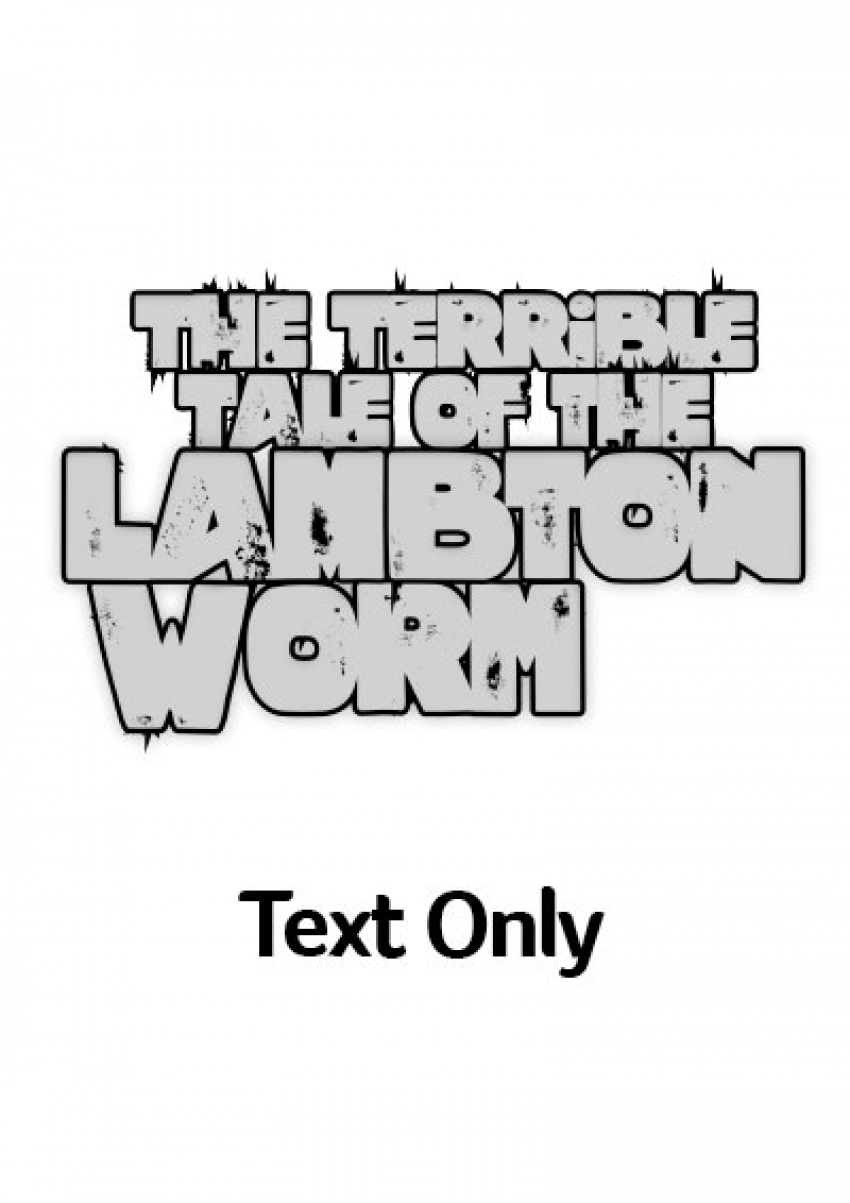 Lambton Worm text-only version