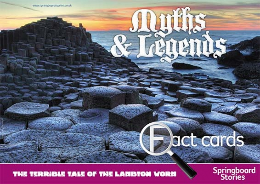 Myths and legends fact cards primary resources