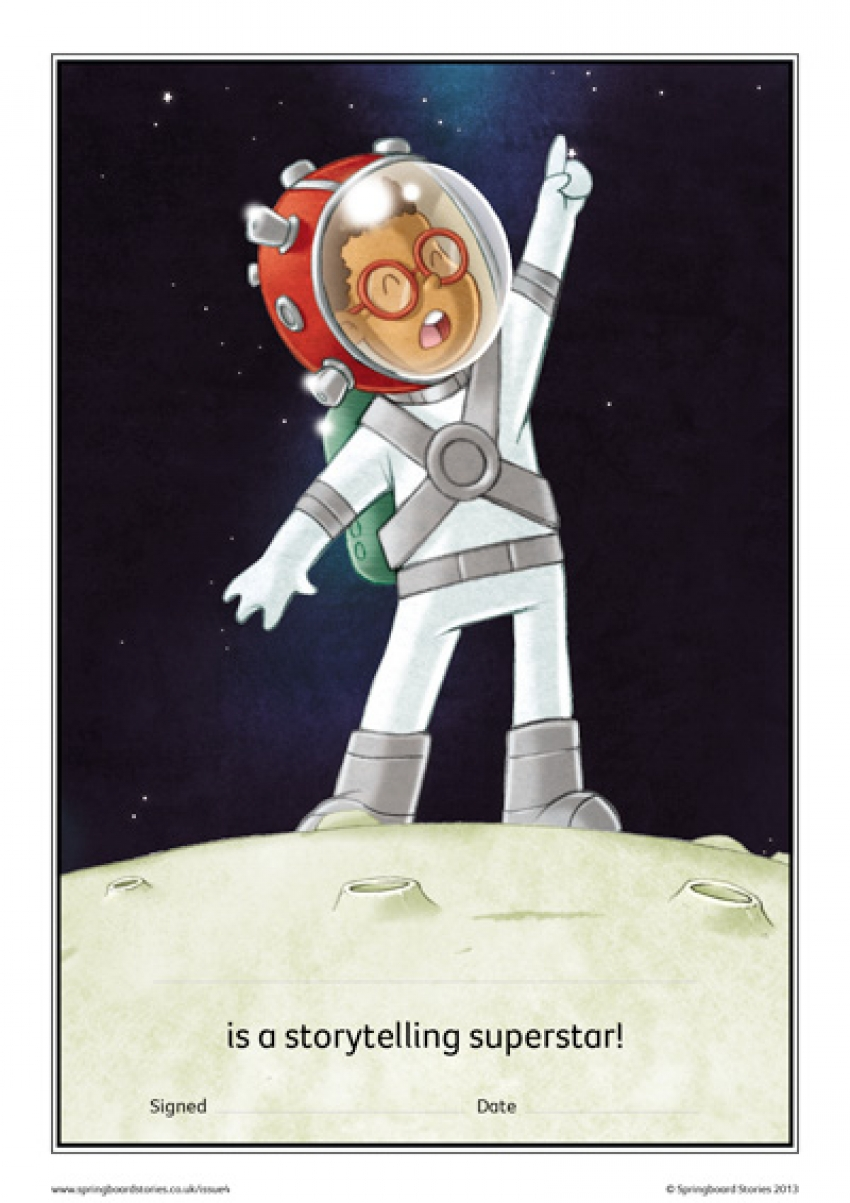 Space storytelling certificate – EY and KS1