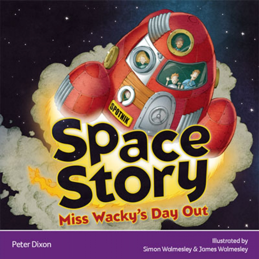 Space Story: Miss Wacky's day out ebook