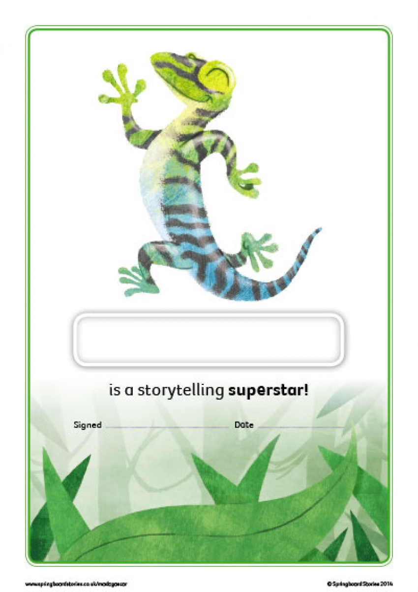 Madagascar storytelling certificate – EY and KS1