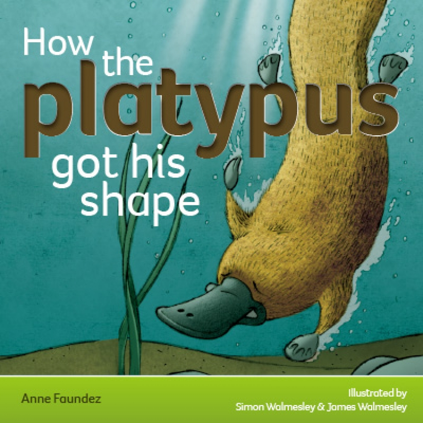 How the platypus got his shape ebook