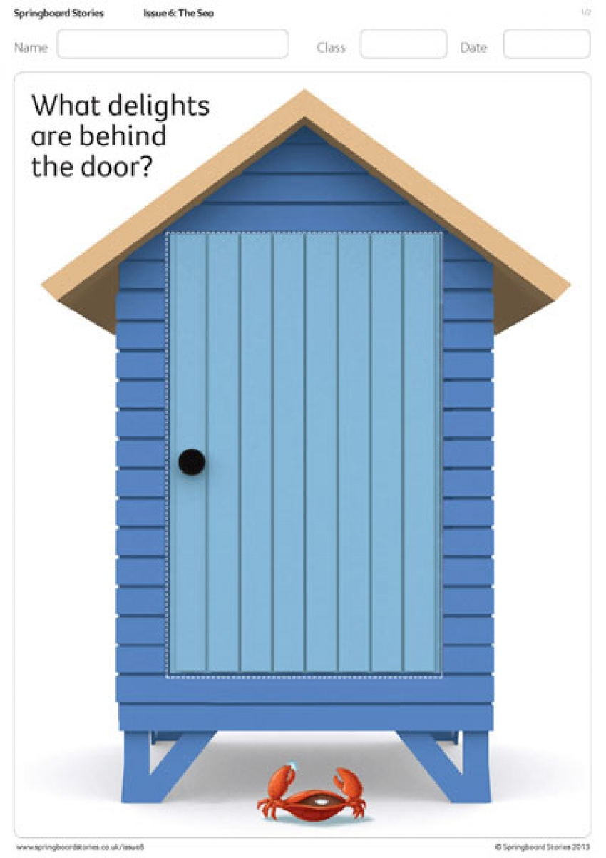 Beach hut template
