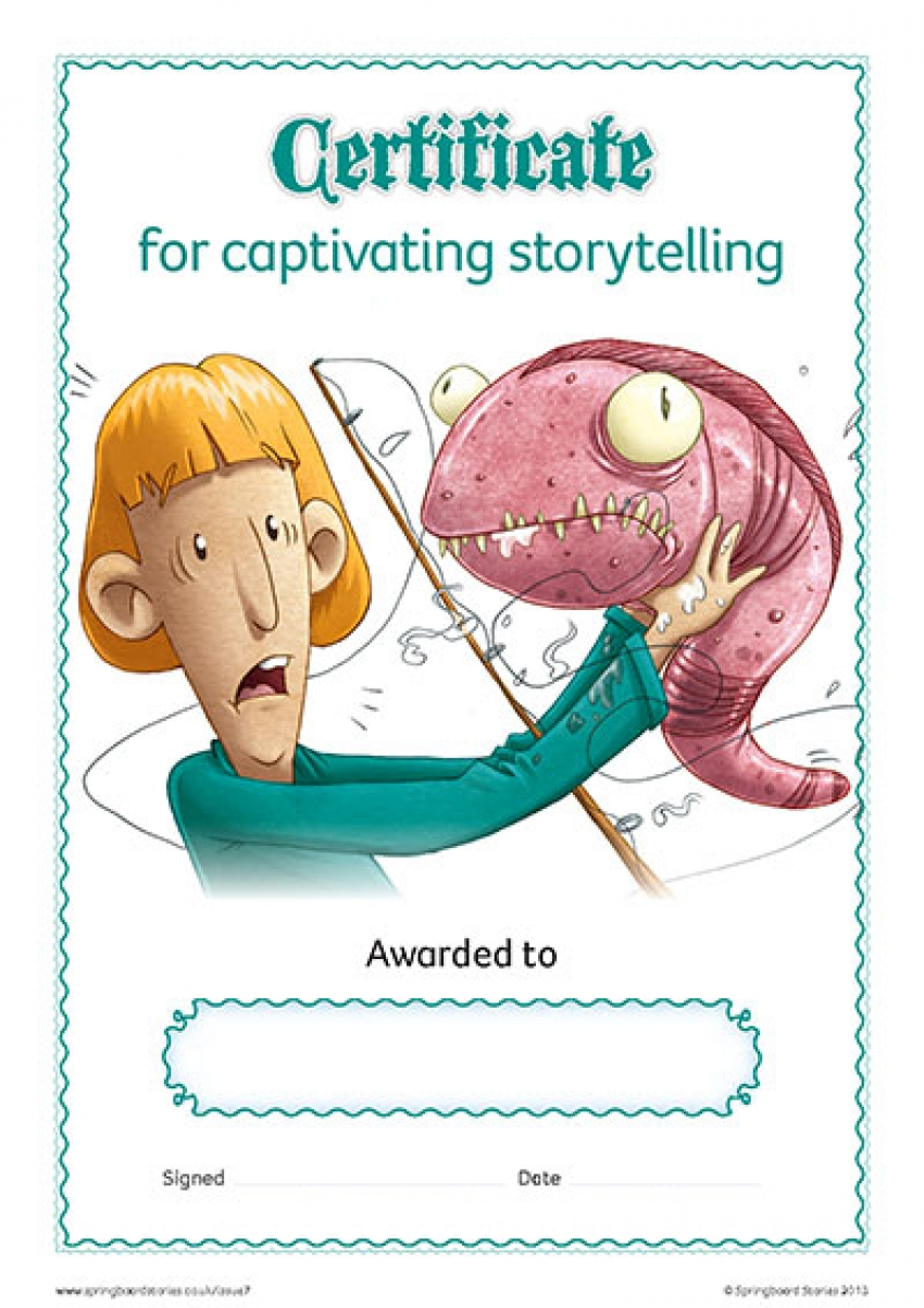 Myths storytelling certificate – KS2
