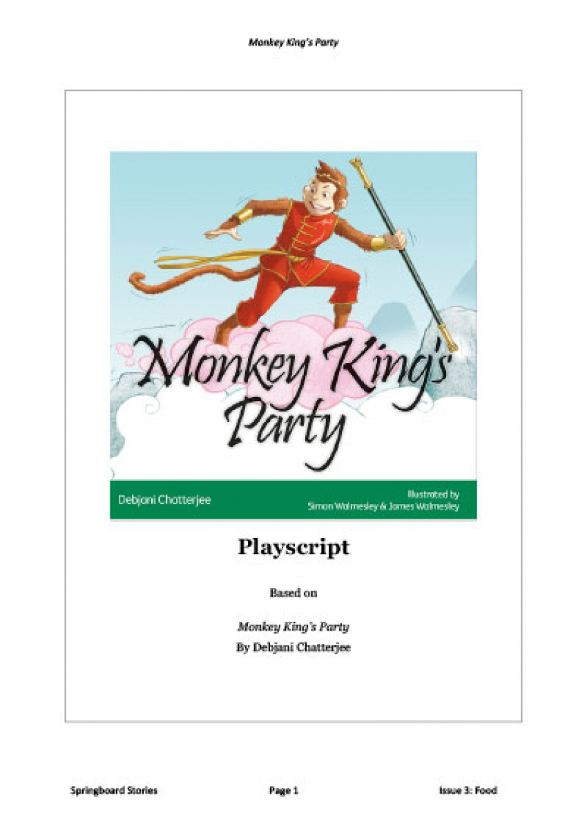 Monkey King's Party playscript